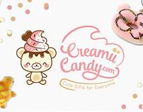 Creamii Candy Identity & Branding
