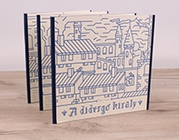 Móra Ferenc: A didergő király | children's book design