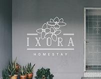 Ixora Homestay | Branding