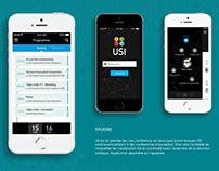 USI Event Design : UX, UI, journey, art direction