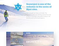 SnowNjeri - UX/UI Design