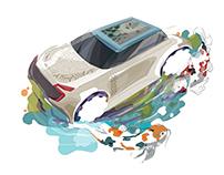 Japan concept car