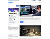 Edge WordPress Theme - Blog Sample Section