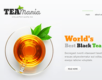 Quality Tea Joomla Template