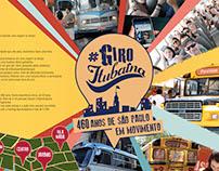 Giro Itubaína - Ativação Aniversário de São Paulo