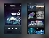 Music App Concept for iOS by Next.Art