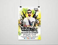 PSD Flyer Templates Photoshop AMbil Studio ✪