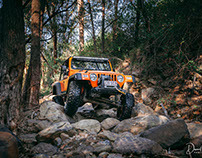Adventure Photography: The Seven Slot Off Road 2nd Jeep