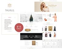 Taurus Blog HTML Template