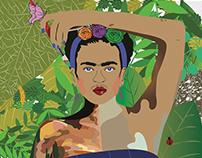 Modern Day Masterpiece- Frida Kahlo