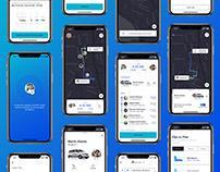 App Ibus - UI/UX Design for iOS