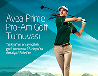 Avea Prime Pro-Am Golf Turnuvası