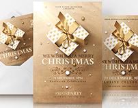 Christmas Invitations - Psd Templates