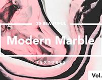 Modern Marble Ink Textures Volume 4