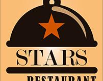 Stars Restaurant Logo Design Work