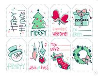 2016 Holiday Gift Tags