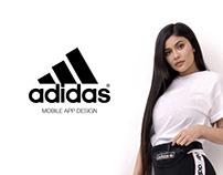 Adidas Mobile App Design
