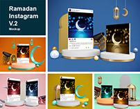Ramadan Instagram V.2 Mockup