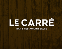 Le Carré: Bar & Restaurant Belge