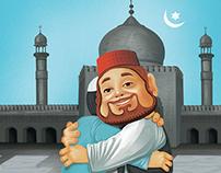 Vodafone  Ramadan print ad