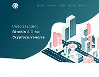 Ben Inc. Landing page