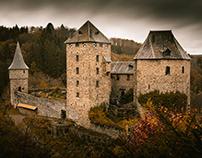 Fairytale castle Reinhardstein