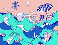 La Mer by Pomme Chan