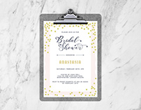 Free Bridal Shower Flyer Design Template
