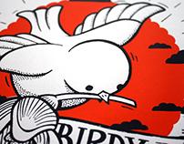 BIRDY - Serigraphie