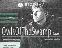 Posters for BEZOBAV (culture association) 2014-2015