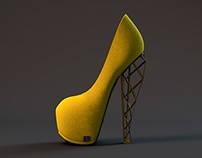 3d modelling rendering for bad soles
