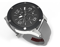 3D Modeling   Product #1   Armani watch