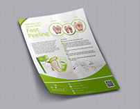 RAIHANAA - FLYER DESIGN/Foot peeling Product Advertise