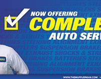 The Mufflerman - Full Service Ad