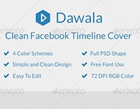 Dawala Clean Facebook Timeline Cover