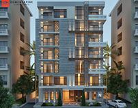 Modern islamic residential building design @ COC