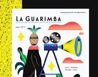 POSTER FOR LA GUARIMBA FILMFESTIVAL