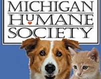 Michigan Humane Society at the Mega March for Animals