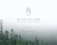 Blue Colibri People Photography- Investment Guide