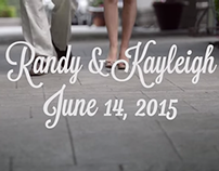 Randy & Kayleigh Moyer Wedding