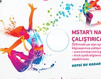 Mstar-Dvd Sticker