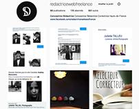 Conceptrice Rédactrice Page pro Instagram