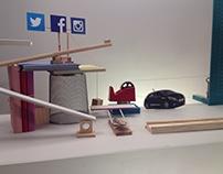 MTV RISE UP by Peugeot - Rube Goldberg machine