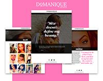 Model Website Design