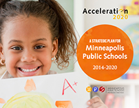 Minneapolis school district strategic plan branding