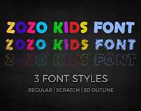 ZoZo Kids Font