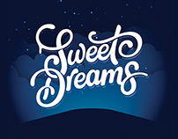 Typography: Sweet Dreams