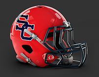 Football Helmet - SC Rockets Football