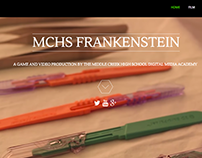 MCHS Frankenstein Website