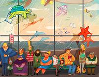 Children's Illustrations Fragments 2018